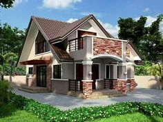 20 Photos of Small Beautiful and Cute Bungalow House Design Ideal for Philippines This article is filed under: Small Cottage Designs, Small Home Design, Small House Design Plans, Small House Design Inside, Small House Architecture Modern Bungalow House Plans, Bungalow Haus Design, Small Bungalow, House Floor Plans, House Design Pictures, Small House Design, Modern House Design, Modern Houses, Bungalows