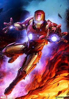 Marvel Dc Comics, Marvel Avengers, Ms Marvel, Bd Comics, Marvel Heroes, Iron Man Avengers, Iron Man Marvel, Iron Man Kunst, Iron Man Art