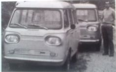 OG | Simca Microbus | Prototype studied in Spain, probably with Barreiros