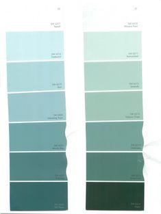 aqua paint colorsAquamarine Color   Chip Sample Swatch Palette Color Charts