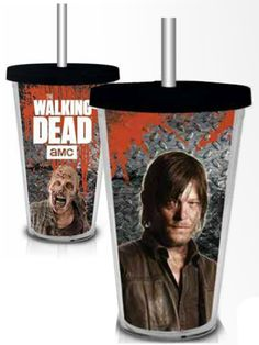The Walking Dead Daryl Dixon Zombie travel cup