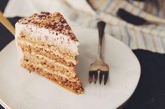 vegan hazelnut torte