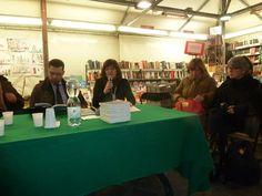 Presentazione alla Feltrinelli a Pisa dell'antologia Racconti Toscani. 15/01/2015