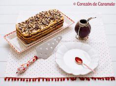 Corazón de Caramelo tarta chocolate y dulce leche