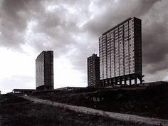 Renaat Braem  Social Housing project Antwerp 1950's
