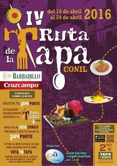 cool IV. Ruta de la Tapa Conil, 15. - 24. April 2016