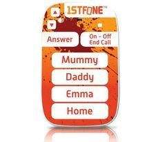 兒童版3310《 1stFone》小孩玩耍必備的摔不壞手機