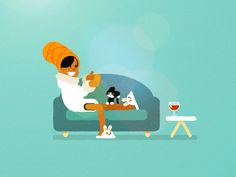 Chill by Pat Grivet - Dribbble