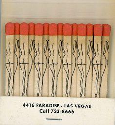 matchbook-las vegas-strip - bring me coffee or tea Gothabilly, Desenho Tattoo, Light My Fire, Burlesque, Packaging Design, Vintage Packaging, Las Vegas, Illustration Art, Illustrations