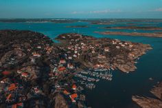 10 Best Islands To Visit in the Gothenburg Archipelago • I, Wanderlista Gothenburg Archipelago, Famous Lighthouses, Over The Bridge, Sweden Travel, Swedish Christmas, Nature Reserve, Big Island, Beautiful Islands, Travel Inspiration