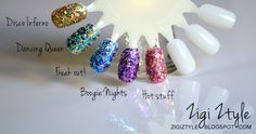 ZigiZtyle: Models Own Mirrorball Collection & Nails of the Day