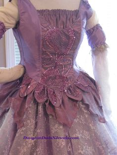 DDNJ Choose Color 4pc Fantasy Fairy Corset by DungeonDudsNJewels, $395.00