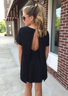 Open back black #swoonboutique