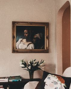 """Cierra Warness on Instagram: """"Spending all this time in, gives me time to enjoy the beautiful simplicities of home •  #quarantinelife #interiordesign #home #art…"""" No Time For Me, All About Time, Give It To Me, Interior Design, Frame, Painting, Beautiful, Instagram, Home Decor"""