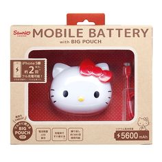 Hello Kitty mobile charger