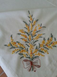 terzioglu f.'s media statistics and analytics Bullion Embroidery, Hand Embroidery Dress, Towel Embroidery, Floral Embroidery Patterns, Hand Embroidery Tutorial, Ribbon Embroidery, Embroidery Stitches, Embroidery Designs, Machine Embroidery