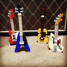 «#guitar #nanoblock»