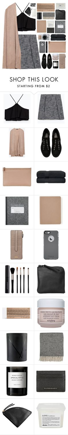 """""""#921"""" by giulls1 ❤ liked on Polyvore featuring Zara, Karl Lagerfeld, Valentino, Graphic Image, Lodis, OtterBox, Japonesque, Xenab Lone, Sisley Paris and NARS Cosmetics"""
