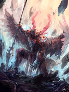 Angel Knight by JasonTN on DeviantArt