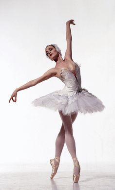"Gillian Murphy (American Ballet Theater) in Kevin McKenzie's ""Swan Lake""...so beautiful."