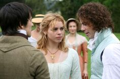 Mansfield Park 2007 - Fanny Price and Edmund Bertram with