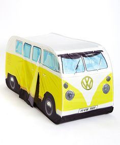 VW Volkswagen Camper Van Kids Pop-Up Play Tent - Orange - Multiple Color Options Available - icon purses Pop Up Play, Waterproof Tent, Kids Pop, Vans Kids, Pop Up Tent, Thing 1, Vw Volkswagen, Vw Camper, Tent Camping