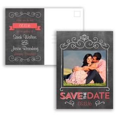 Chalkboard Chatter Save the Date Postcard #Chalkboard #SaveTheDate #DavidsBridal http://www.invitationsbydavidsbridal.com/Wedding-Invitations/Save-the-Dates/2947-DBP33272SD-Chalkboard-Chatter--Save-the-Date-Postcard.pro?&sSource=Pinterest&kw=SaveTheDate_DBP33272SD