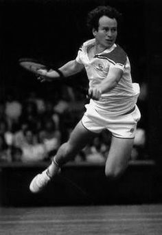 John McEnroe, tennis player More Drama on the court, he should have chosen Theater :-)