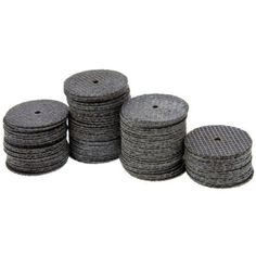 """ZFE Reinforced Cut Off Wheel 1 1/2-Inch (38mm) With 2 Mandre 1/8"""" For Proxxon Dremel Rotary Tools Pack of 100Pcs. Size:1-1/2""""(38mm). The cut-off wheel is reinforced with fiberglass for increased durability and used for cutting metal including hardened steel. Great for contractors and the home hobbyist. Ideal for cutting, grooving and trimming all kinds of metal May also be used on other materials-including thin wood, plastics and ceramics Cut bolts or screws or make slots in rusted or..."""