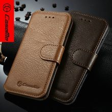 CaseMe Brand Case For iPhone 6 real Leather Wallet Case mobile phone bag cases for iPhone 6s