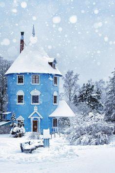 wanderlusteurope:  Moominhouse, Naantali, Finland