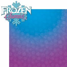 Frozen: Frozen Summer 2 Piece Laser Die Cut Kit