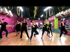 """▶ Mark Ronson & Bruno Mars """"Uptown Funk"""" - Zumba Routine - Choreo by Mari - YouTube"""