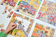 Ravensburger Firefighter Puzzles at How we Montessori - > 5 anys