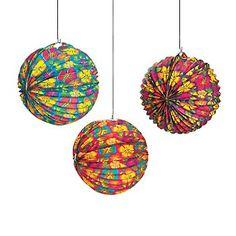 Luau Balloon Lanterns
