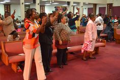 The atmosphere SHIFTED at the 7am service.