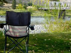 Girl Camping: Discovery: Off-Season Camping on the Salmon River at Swiftwater RV Park Outdoor Chairs, Outdoor Furniture, Outdoor Decor, Girls Camp, Rv Parks, Butterfly Chair, Native Americans, Idaho, Discovery