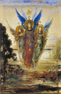 The Voice of Eventide...by Gustave Moreau