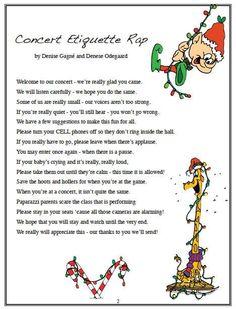 concert etiquette - Google Search