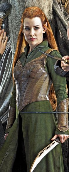 it would be really fun to go in costume as Tauriel to the movie... sadly I don't think I could find a friend to go with me as well....