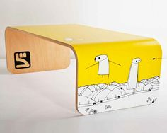 Stuart Melrose. Fede skateboard sofaborde. - 2rethink