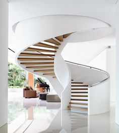 modern spaces with amazing stairs