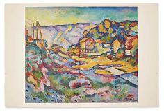 One Kings Lane - Collectors' Pieces - Georges Braque, L'Estaque, 1906