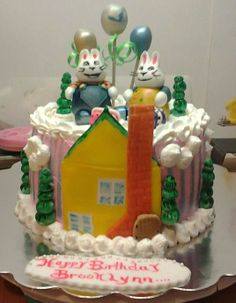 Max & Ruby Cake