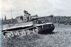 TANKS OF GERMANY - POWER AND STRENGTH.Otto Carius Tiger nehéz Panzerabteilung502