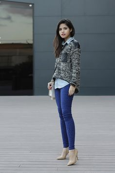 02-leopard-jeans-pants-leather-sweater-denim-shirt-nude-pumps-steve-madden-sheinside
