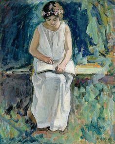 Girl Reading, Henri Lebasque
