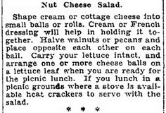 """Published in the Seattle Daily Times (Seattle, Washington), 22 June 1928, page 28. Read more on the GenealogyBank blog: """"Our Ancestors' Summer Picnics & Recipes."""" https://blog.genealogybank.com/our-ancestors-summer-picnics-recipes.html"""