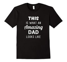 Men's Funny Fathers Day Shirt Gift from Son Daughter Kids Wife XL Black