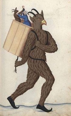 A Selection Of Weird & Disturbing Medieval Manuscript Art • Lazer Horse